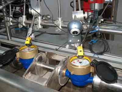 Water and Oil Flow Meters Calibration Test Bench Systems, IS0 4185, OIML R105, OIML R49