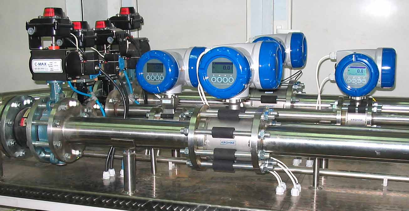 Flow Meters Calibration Systems Flow Measuring Systems For Calibration Verification And Testing Of Volumetric And Mass Flowmeters Equipamento